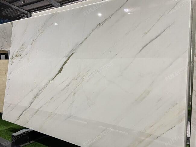 Chinese calacatta marble slab