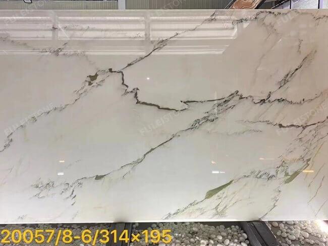 Oriental Calacatta White Marble