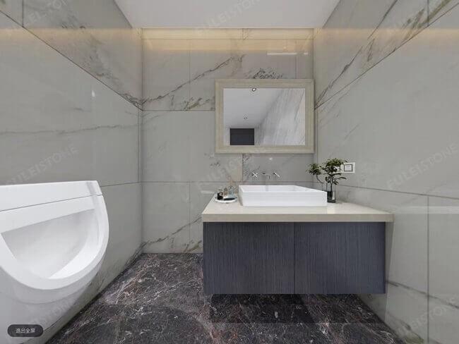 calacatta oriental bathroom application