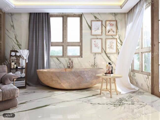 calacatta oriental for bathroom
