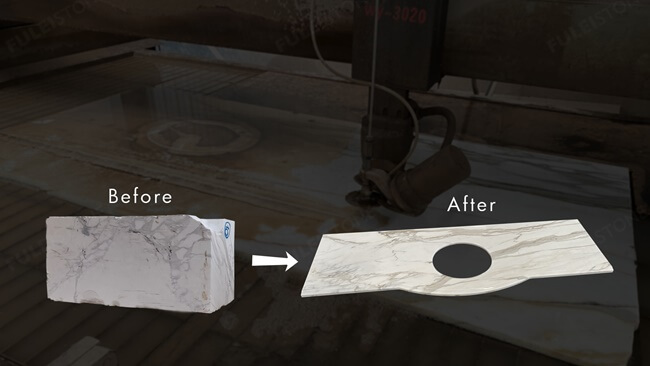 How to Make Calacatta Gold Marble Countertops