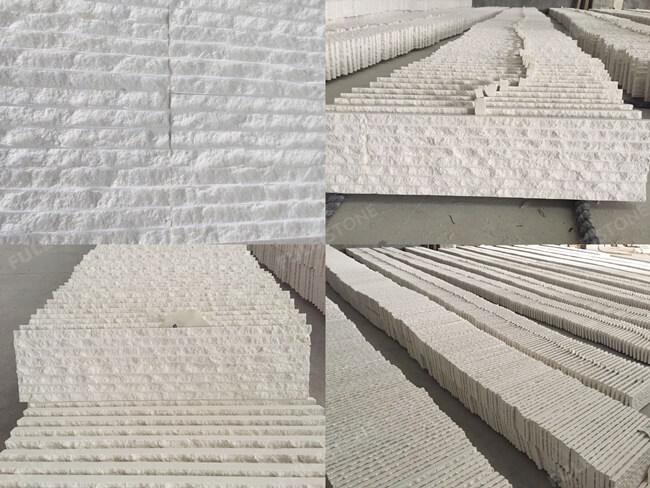 Limra Limestone Tiles-Grooved Finish