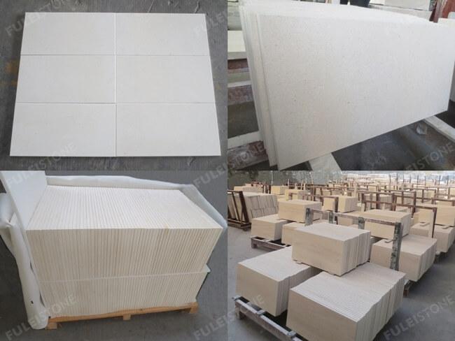 Limra Limestone Tiles-Honed