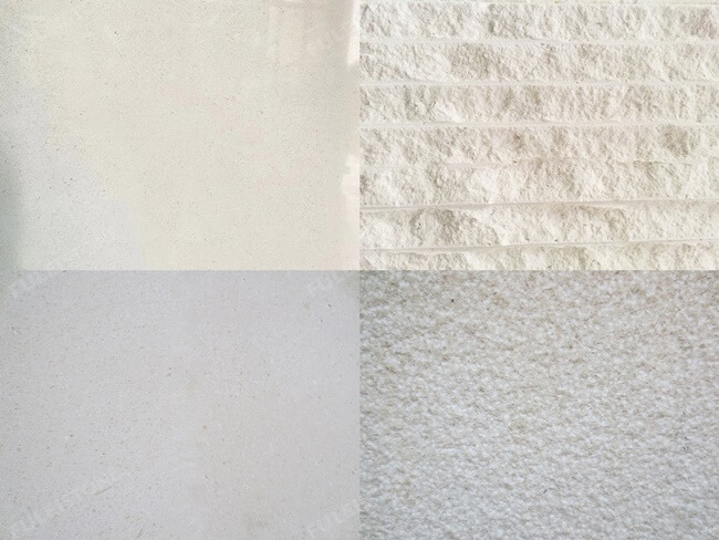 Limra Limestone-different surface finishes